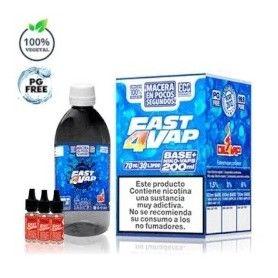 Fast4Vap 200ml Pack Base - Oil4Vap