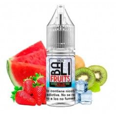 Watermelon + Kiwi + Strawberry Ice 10ml - Bali Fruits Salts by Kings Crest
