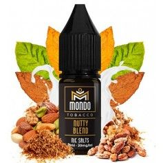 Nutty Blend 10ml - Mondo Nic Salts