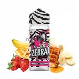 Strawberry Banana Waffle 100ml - Zebra Juice Dessertz