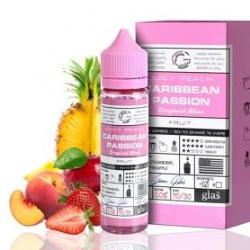 Juicy Peach Caribbean Passion 50ml - Glas Basix Series