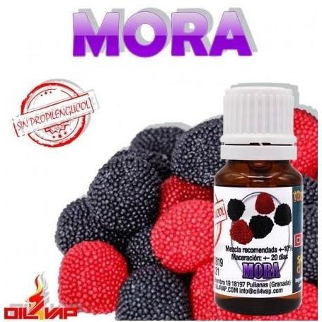 Aroma Mora (Sin PG) 10ml - Oil4vap