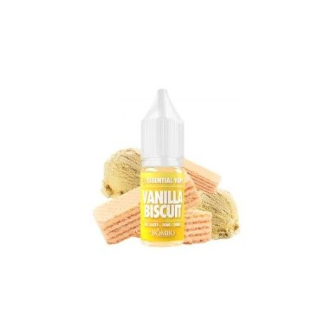 Vanilla Biscuit 10ml - Essential Salts by Bombo