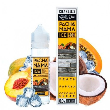 Peach, Papaya, Coconut Cream Ice - Pachamama by Charlie's Chalk Dust
