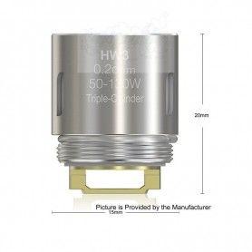 HW3 Triple-Cylindre 0,3ohm Coil - Eleaf