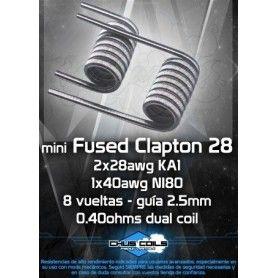 Mini Fused Clapton 0.4 Ohm - Chus Coils