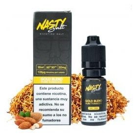 XXX Salt Gold Blend Pure Tobacco - Nasty Juice