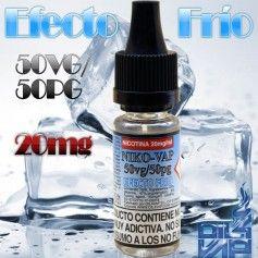 NikoVap 20mg 10ml Efecto Frio - Oil4Vap