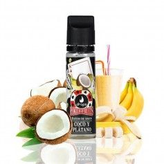 Batido de Coco Plátano 50 ML - Drops Poker Fruits