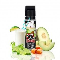 Batido de Lima Melón y Caramelo 50ML - Drops Poker Fruits