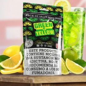 Pack Green & Yellow + NikoVaps 30ML - Oil4Vap Sales