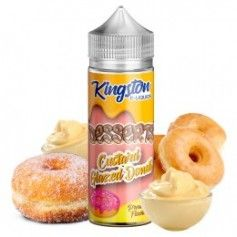 Custard Glazed Donut 100ml - Kingston E-liquids