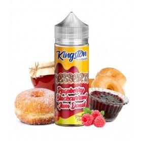 Raspberry Blackcurrant Jam Donut 100ml - Kingston E-liquids